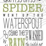 Itsy Bitsy Spider(Eentsy Weentsy Spider)を遊びつくす – 歌、歌詞、動画、コード、楽譜、手遊びの紹介もあるよ!