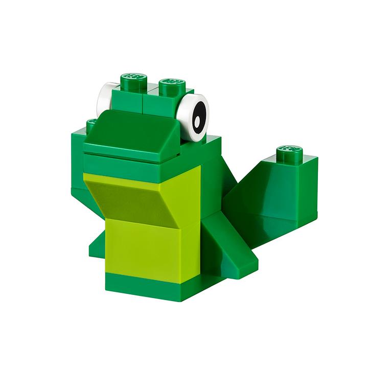 LEGO Classic 10698 LEGO Large Creative Brick Box Frog