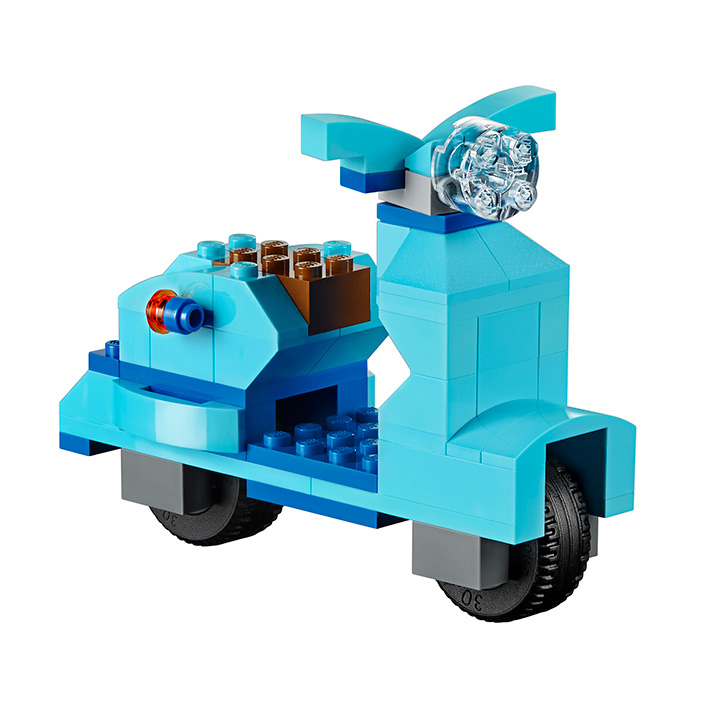 LEGO Classic 10698 LEGO Large Creative Brick Box Moped