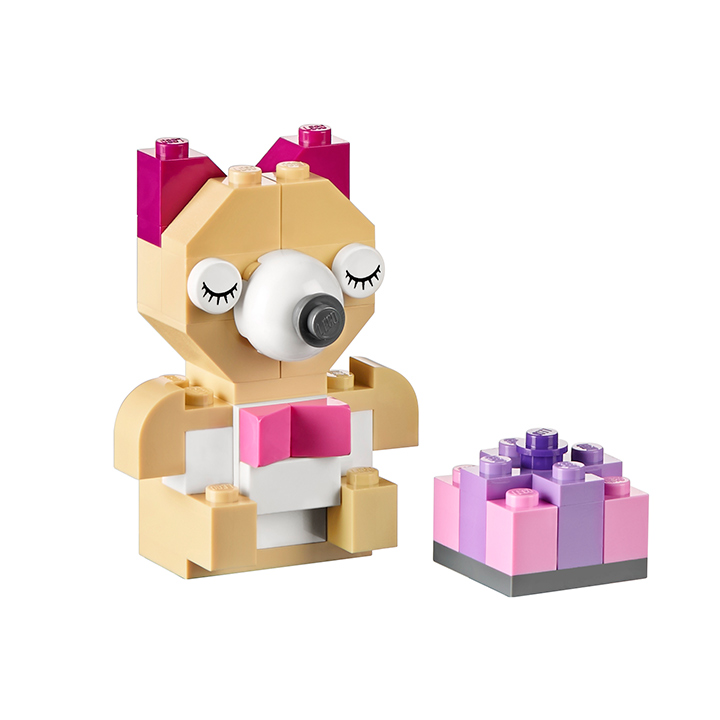 LEGO Classic 10698 LEGO Large Creative Brick Box Teddy bear