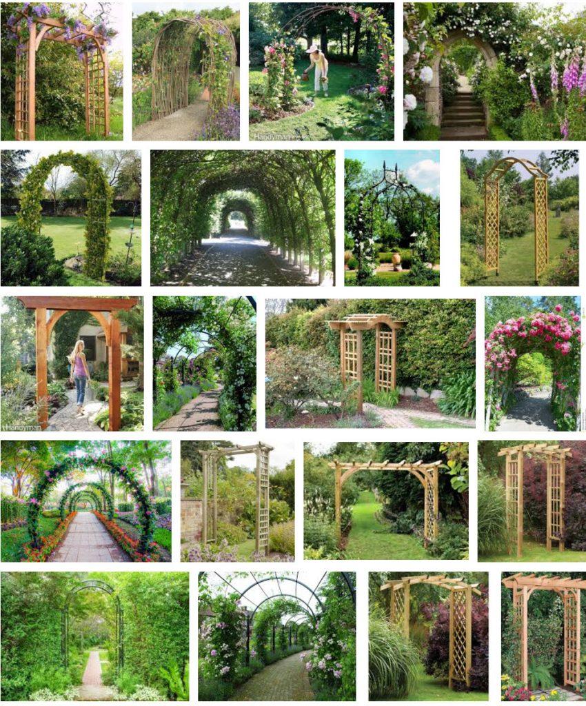 ガーデンアーチの画像
