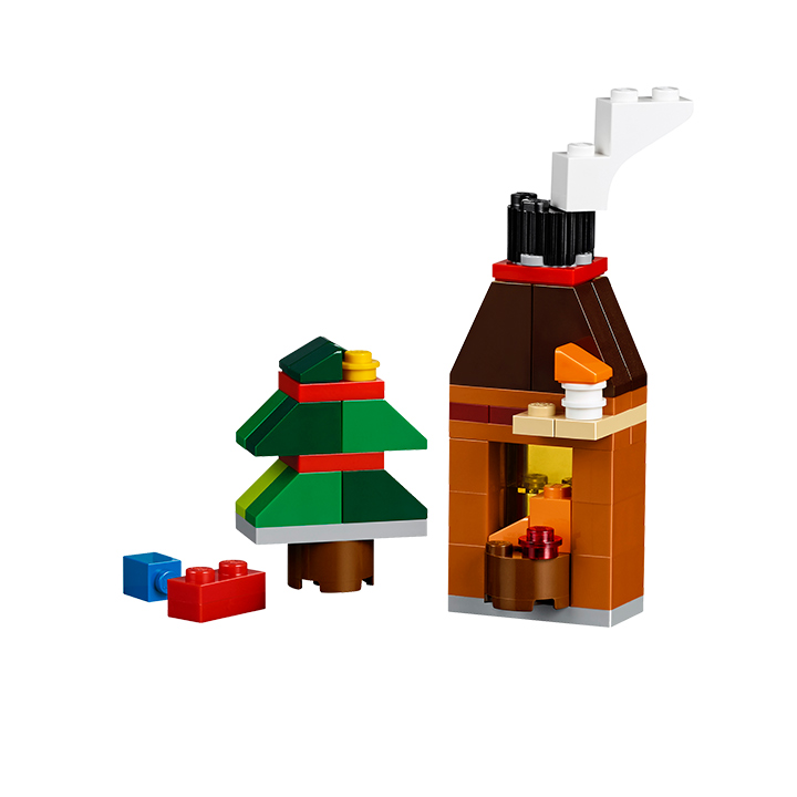 LEGO Classic Advent Calendar Fireplace