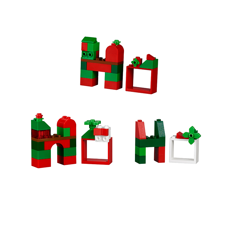 LEGO Classic Advent Calendar Ho Ho Ho