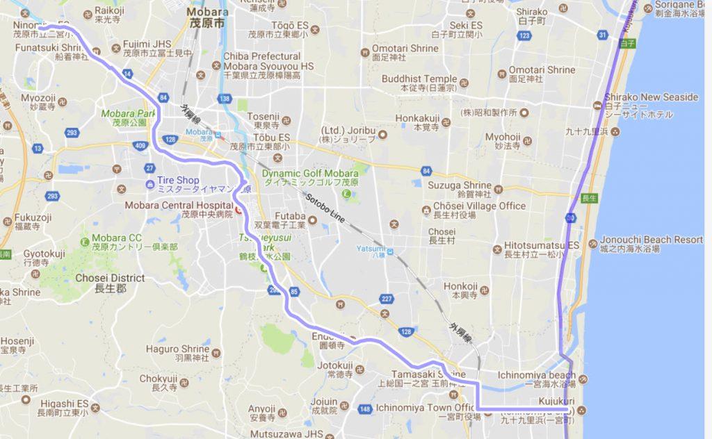 千葉サイクリングコース(ロード)402