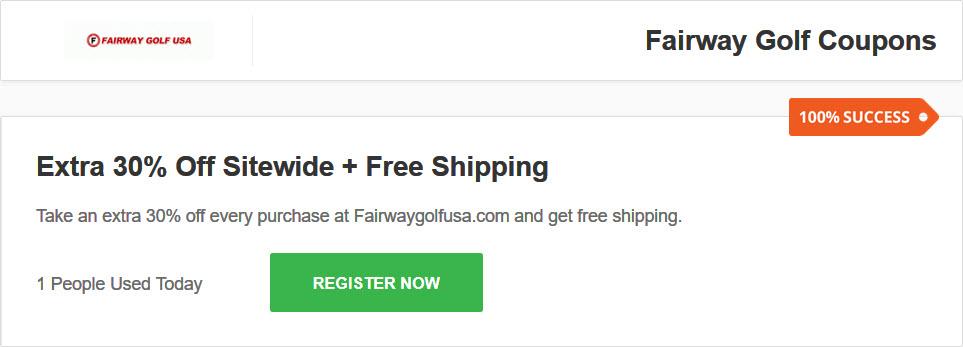 フェアウェイゴルフUSA(Fairway golf USA) クーポン