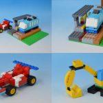 レゴ (LEGO)クラシック 10698 レシピ 説明書 作品例と作り方 その2