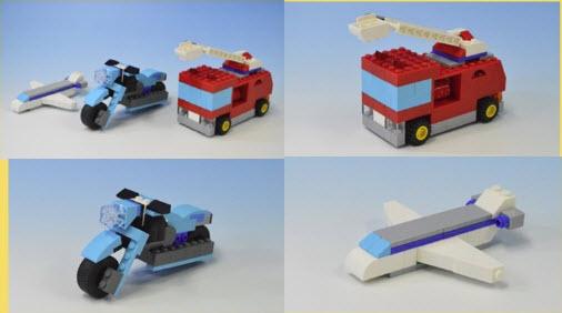 レゴ (LEGO)クラシック 10698 バイク 飛行機 消防車