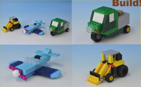 レゴ (LEGO)クラシック 10698 トラック 飛行機 ブルドーザー