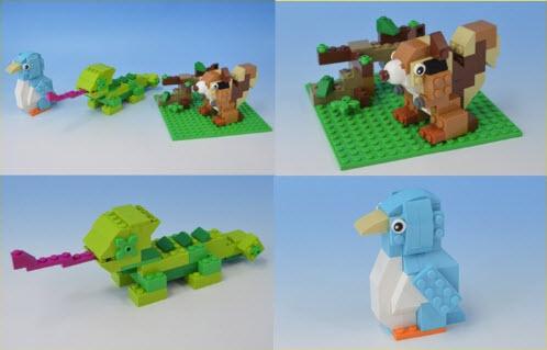 レゴ (LEGO)クラシック 10698 りす カメレオン ペンギン