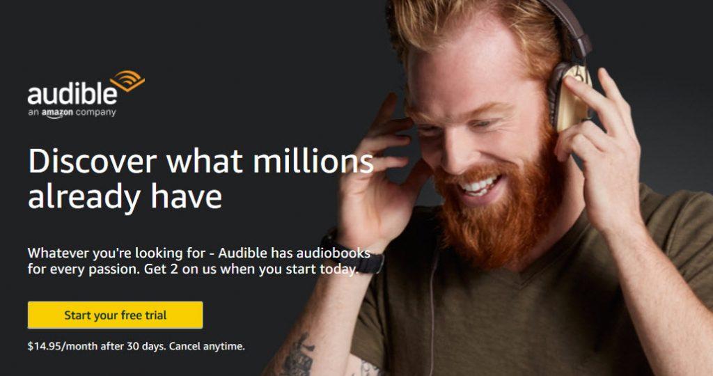 アメリカAmazon アマゾン Audible オーディブルの使い方と英語学習
