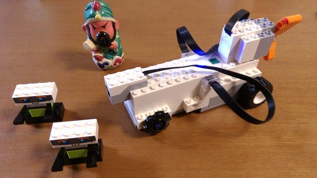 レゴブーストの車