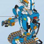 レゴブーストの説明書とプログラミングブロックの説明書